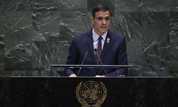 """<span class=""""entry-title-primary"""">Pedro Sánchez anuncia la exhumación de Francisco Franco</span> <span class=""""entry-subtitle"""">Repercusión mediática mundial tras la decisión del Tribunal Supremo</span>"""