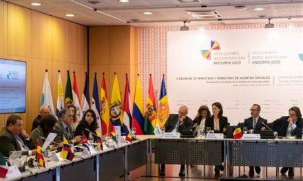 """<span class=""""entry-title-primary"""">Andorra prepara-se para a XXVII Cúpula Ibero-americana em novembro de 2020</span> <span class=""""entry-subtitle"""">Ministros ibero-americanos de assuntos sociais pedem para harmonizar políticas sociais</span>"""