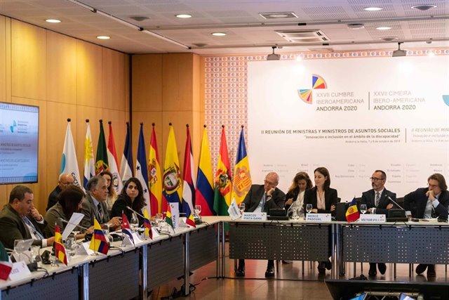 """<span class=""""entry-title-primary"""">Andorra se prepara para la XXVII Cumbre Iberoamericana en noviembre de 2020</span> <span class=""""entry-subtitle"""">Los ministros de asuntos sociales iberoamericanos piden armonizar las políticas sociales</span>"""