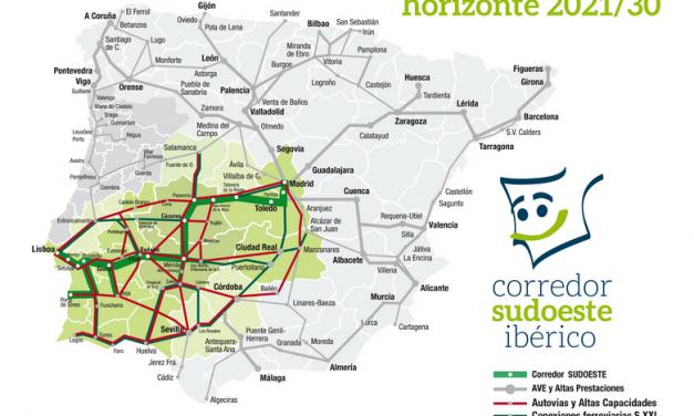 La Raya extremeña se manifestará por el tren Madrid-Lisboa