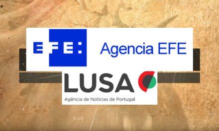 """<span class=""""entry-title-primary"""">As agências de notícias LUSA e EFE desenvolvem o projeto europeu """"Histórias Ibéricas""""</span> <span class=""""entry-subtitle"""">Esta associação inclui a organização de um debate sobre a Península Ibérica</span>"""