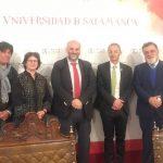 A Universidade de Salamanca liga-se com a prosperidade de Fundão