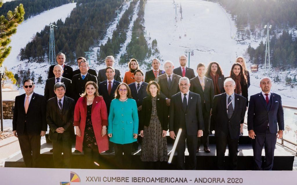 """<span class=""""entry-title-primary"""">Los ministros de Exteriores establecen el 19 de julio como el Día de Iberoamérica</span> <span class=""""entry-subtitle"""">La reunión, celebrada en Andorra, ha sido """"muy política, aunque no estaba previsto"""", según Josep Borrell</span>"""