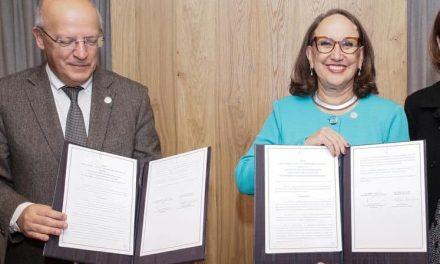 """<span class=""""entry-title-primary"""">Portugal apoia Ibero-américa através de Fundo de Cooperação Internacional para o Desenvolvimento</span> <span class=""""entry-subtitle"""">O acordo foi assinado pelo Ministro dos Negócios Estrangeiros, Augusto Santos Silva e a Secretária-Geral Ibero-americana, Rebeca Grynspan</span>"""