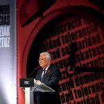António Costa recibe el premio Ramón Rubial en el 1 de diciembre