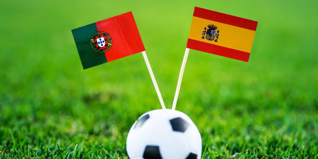 """<span class=""""entry-title-primary"""">Futebol: Dérbi ibérico em 5 de junho no Wanda</span> <span class=""""entry-subtitle"""">As equipas de futebol de Portugal e Espanha enfrentam-se numa partida amigável em Madrid</span>"""