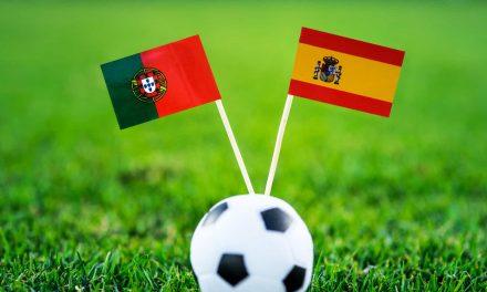 """<span class=""""entry-title-primary"""">Portugal recebe Espanha e Andorra em jogos particulares</span> <span class=""""entry-subtitle"""">Em Lisboa</span>"""