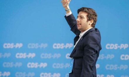 """<span class=""""entry-title-primary"""">Francisco Rodrigues dos Santos é o novo líder do CDS</span> <span class=""""entry-subtitle"""">Os centristas tiveram um dos piores resultados da sua história </span>"""