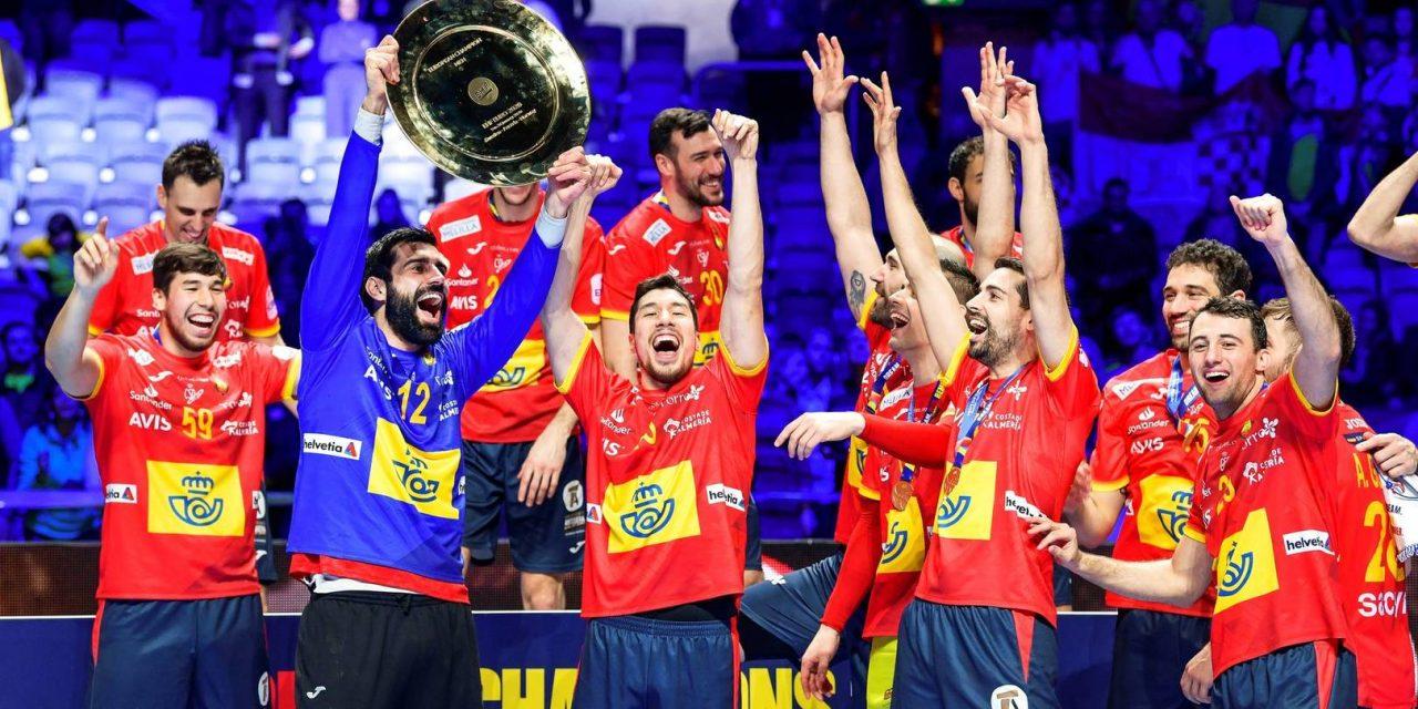 """<span class=""""entry-title-primary"""">El balonmano ibérico logra un resultado histórico</span> <span class=""""entry-subtitle"""">La selección española ganó y la portuguesa quedó sexta en el campeonato europeo</span>"""