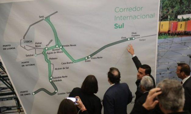 Portugal anuncia la finalización de la «fase de obra» del tramo ferroviario entre Elvas y La Raya