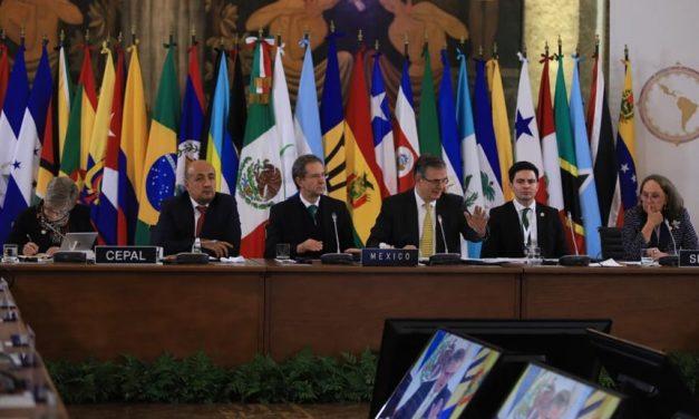 Brasil não foi a cimeira dos Estados latino-americanos no México