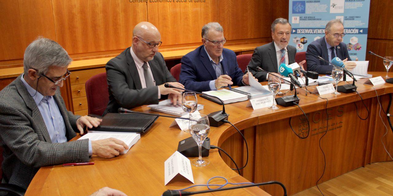 """<span class=""""entry-title-primary"""">Vázquez Mao: """"O despovoamento é uma questão de Estado, tal como as alterações climáticas""""</span> <span class=""""entry-subtitle"""">Um relatório do Eixo Atlántico avisa que nos próximos dez anos a Galiza vai perder 200 mil habitantes</span>"""