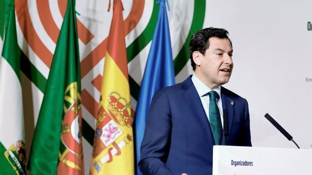 Moreno quer que Andaluzia receba próxima Cimeira Ibérica