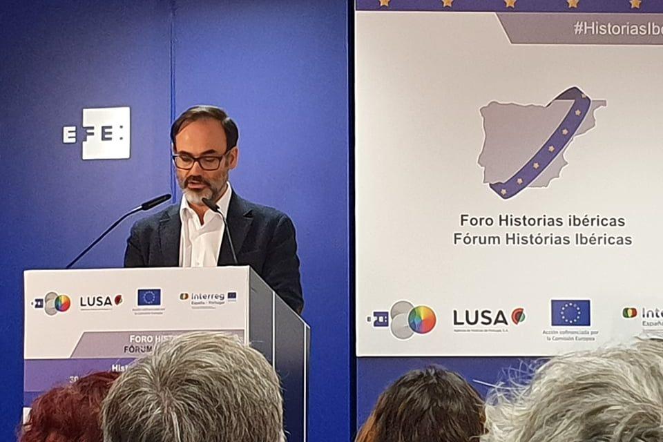 """<span class=""""entry-title-primary"""">As """"histórias ibéricas"""" de coesão de EFE e LUSA celebram um ano</span> <span class=""""entry-subtitle"""">As agências publicaram uma série de reportagens para """"trazer"""" A Raia """"ao público espanhol e português""""</span>"""