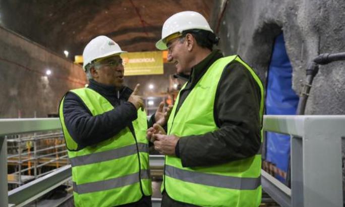 """<span class=""""entry-title-primary"""">Iberdrola reafirma su apuesta por Portugal</span> <span class=""""entry-subtitle"""">Sánchez Galán y António Costa supervisan las obras del Complejo Hidroeléctrico del Támega</span>"""