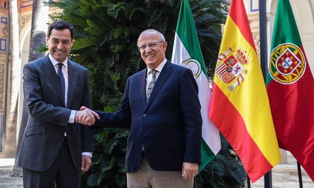 O presidente da Junta de Andaluzia reunir-se-á com três ministros na sua viagem oficial a Portugal