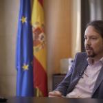 """Pablo Iglesias: """"Os governos de Espanha e Portugal são chamados a entenderem-se e serem aliados na Europa"""""""