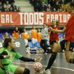 Dérbi de futsal feminino: Portugal venceu Espanha