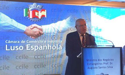 """<span class=""""entry-title-primary"""">Augusto Santos Silva defiende una agenda ibérica en Europa y con otros actores globales</span> <span class=""""entry-subtitle"""">El ministro de Exteriores de Portugal advirtió a Venezuela que no cambiará su política</span>"""