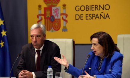 """<span class=""""entry-title-primary"""">España y Portugal apuestan por las pymes en los proyectos europeos de defensa</span> <span class=""""entry-subtitle"""">Los ministros ibéricos se reunieron este lunes en Madrid y apostaron por la cooperación militar</span>"""