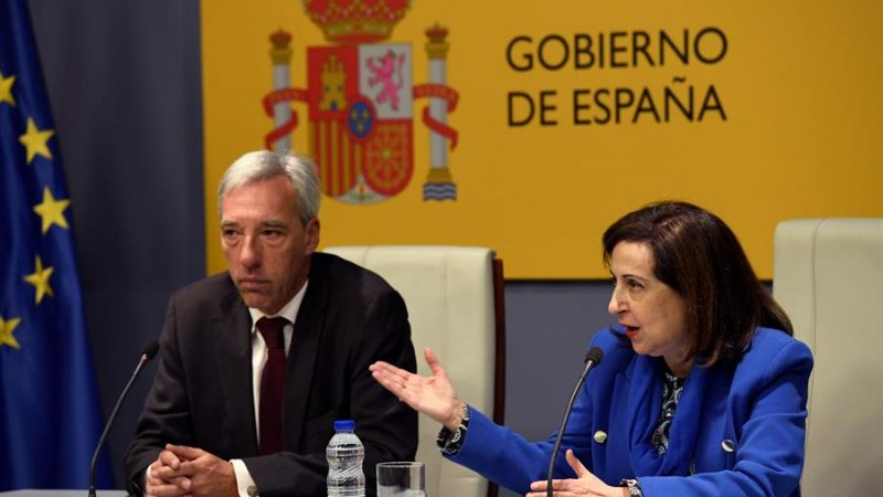 """<span class=""""entry-title-primary"""">Espanha e Portugal apostam pelas PMEs nos projetos europeus de defesa</span> <span class=""""entry-subtitle"""">Os ministros ibéricos se reuniram em Madrid e apostam na cooperação militar</span>"""