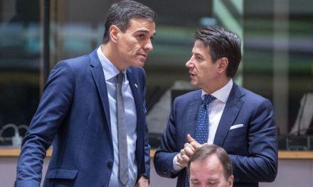 """<span class=""""entry-title-primary"""">Espanha e Itália bloqueiam cimeira e exigem um plano económico contra o coronavírus mais ambicioso</span> <span class=""""entry-subtitle"""">Conte bateu na mesa e impôs um prazo de 10 dias aos restantes parceiros da UE</span>"""