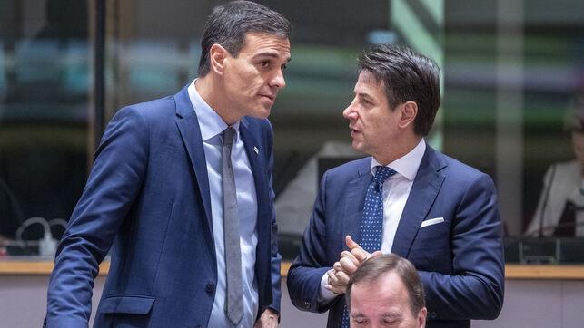 """<span class=""""entry-title-primary"""">España e Italia bloquean la cumbre y exigen un plan económico contra el coronavirus más ambicioso</span> <span class=""""entry-subtitle"""">Conte dio un golpe sobre la mesa e impuso un plazo de 10 días al resto de los socios de la UE</span>"""