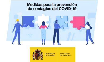 """<span class=""""entry-title-primary"""">El Gobierno español lanza una guía de buenas prácticas en los centros de trabajo frente al coronavirus</span> <span class=""""entry-subtitle"""">La distancia interpersonal y la higiene estricta son los ejes fundamentales de estas buenas prácticas</span>"""