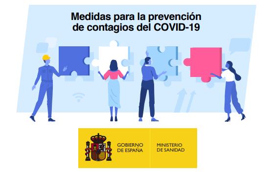 """<span class=""""entry-title-primary"""">Governo espanhol lança guia de boas práticas em locais de trabalho contra coronavírus</span> <span class=""""entry-subtitle"""">Distância interpessoal e higiene rigorosa são os eixos fundamentais destas boas práticas</span>"""