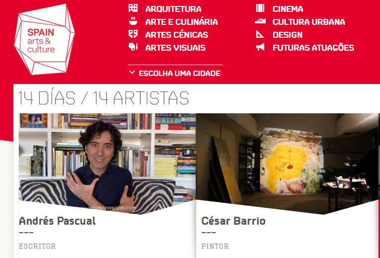 """<span class=""""entry-title-primary"""">La Embajada de España en Portugal ameniza la cuarentena con un proyecto artístico</span> <span class=""""entry-subtitle"""">Desde el pasado día 22 y durante las próximas dos semanas, cada día aparecerá un artista español distinto mostrando cómo continúa con su proceso de creación</span>"""