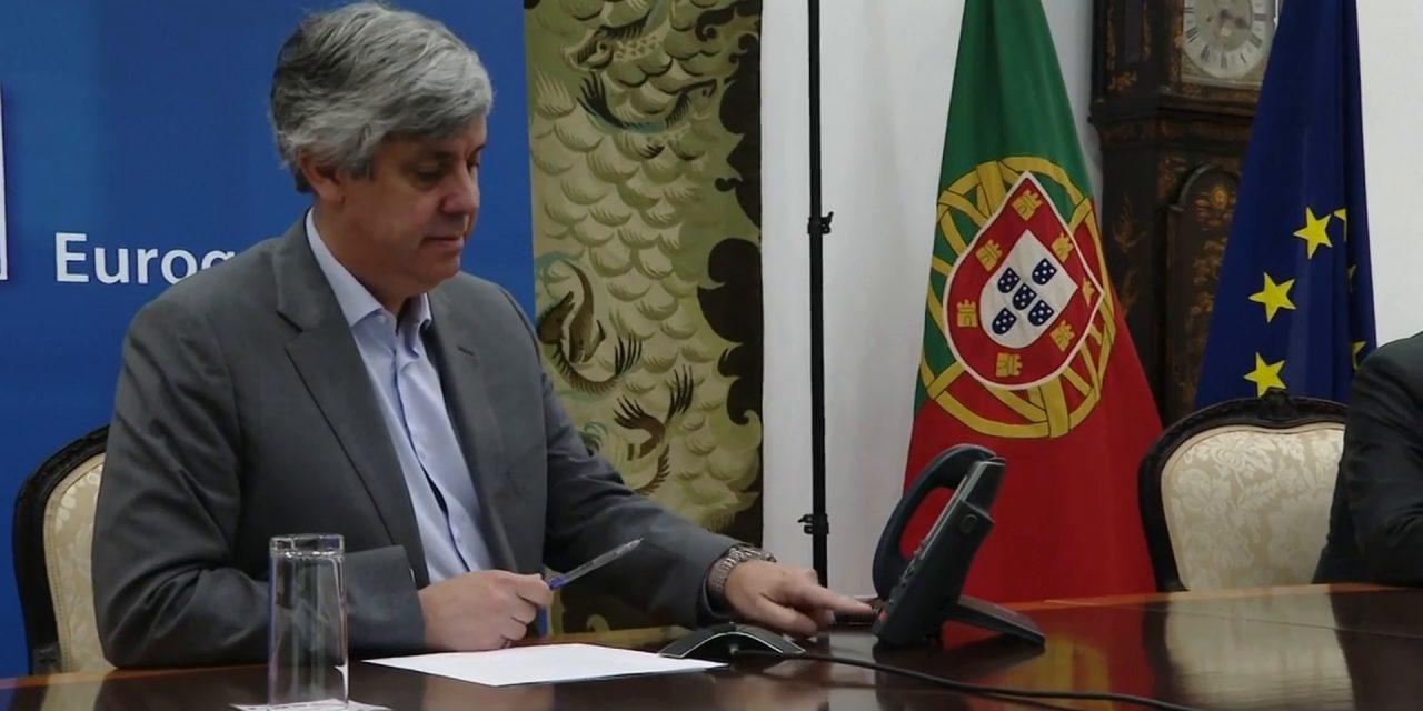 """<span class=""""entry-title-primary"""">Presidente del Eurogrupo: """"Debemos ser nuestro Plan Marshall""""</span> <span class=""""entry-subtitle"""">El portugués Mário Centeno afirma que está trabajando """"en tres redes de seguridad""""</span>"""