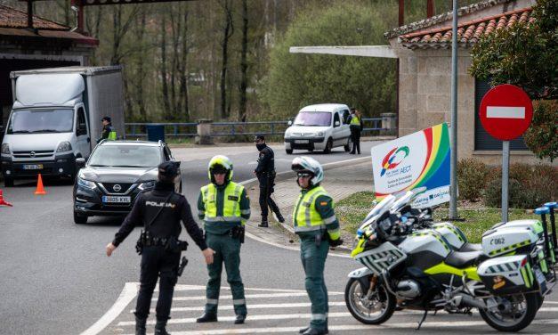 Portugal y España mantienen la frontera cerrada al menos hasta el 19 de abril