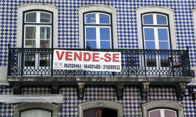 Pandemia trava o auge imobiliário em Portugal