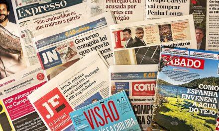 """<span class=""""entry-title-primary"""">El coronavirus pone en peligro la supervivencia del periodismo</span> <span class=""""entry-subtitle"""">Las ayudas públicas no «salvan» a las empresas portuguesas de los ERTEs</span>"""