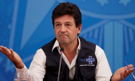 """<span class=""""entry-title-primary"""">Mandetta anuncia que foi demitido do Ministério da Saúde por Bolsonaro</span> <span class=""""entry-subtitle"""">A demissão de Mandetta decorre de um agravamento da relação com o presidente</span>"""