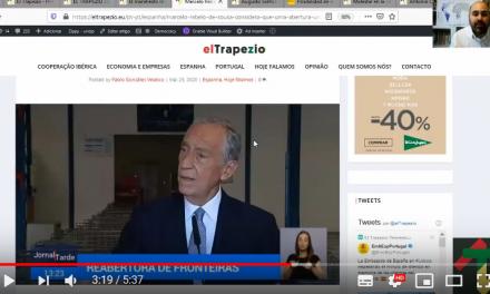 """<span class=""""entry-title-primary"""">[Vídeo] Editorial do EL TRAPEZIO sobre a situação da fronteira ibérica</span> <span class=""""entry-subtitle"""">A primeira plataforma de mediática ibérica faz uma avaliação crítica da gestão de fronteiras dos Governos português e espanhol</span>"""