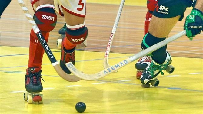"""<span class=""""entry-title-primary"""">El hockey gallego valora participar en la liga portuguesa</span> <span class=""""entry-subtitle"""">La entrega del título de campeón al Barcelona ha hecho que varios clubes gallegos consideren jugar en Portugal</span>"""