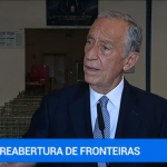 """Marcelo Rebelo de Sousa considera que uma abertura unilateral da fronteira """"tem fortes probabilidades de não dar certo"""""""