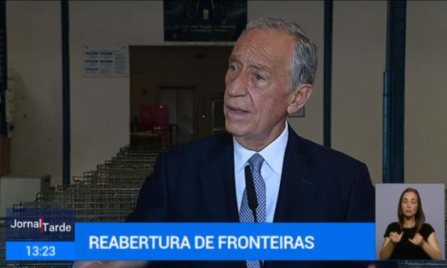 Marcelo Rebelo de Sousa advierte que una apertura unilateral de fronteras puede que «no funcione»