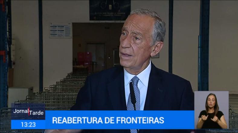 """<span class=""""entry-title-primary"""">Marcelo Rebelo de Sousa considera que uma abertura unilateral da fronteira """"tem fortes probabilidades de não dar certo""""</span> <span class=""""entry-subtitle"""">O Governo espanhol, de novo, não consultou com o Governo português o levantamento da quarentena para turistas estrangeiros a partir de 1 de julho</span>"""