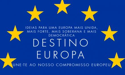 """<span class=""""entry-title-primary"""">No 35º aniversário da entrada de Portugal e Espanha na UE, foi lançado o Manifesto Ibérico: «Destino Europa»</span> <span class=""""entry-subtitle"""">Centenas de personalidades portuguesas e espanholas unem forças para promover a União Europeia. Leia o manifesto:</span>"""
