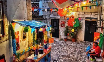 """<span class=""""entry-title-primary"""">Santo António numa cidade sem alma e com as pessoas confinadas em casa</span> <span class=""""entry-subtitle"""">As noivas e as marchas ficaram longe da Avenida da Liberdade e a criatividade encheu as ruas vazias</span>"""