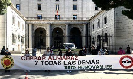 """<span class=""""entry-title-primary"""">O Movimento Ibérico Antinuclear pede o encerramento das centrais de Almaraz e Vandellós</span> <span class=""""entry-subtitle"""">Movimentos sociais unem-se para que não se renove a autorização das duas centrais nucleares em Cáceres e Tarragona</span>"""