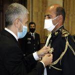 Marlaska condecora al jefe de la Guardia Nacional Republicana de Portugal