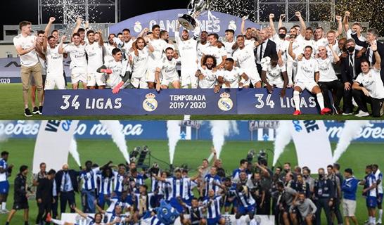 """<span class=""""entry-title-primary"""">¡Nuevos campeones en la península ibérica!</span> <span class=""""entry-subtitle"""">El Oporto y Real de Madrid se han proclamado campeones en Portugal y España</span>"""