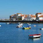Uma baía com vista para Lisboa