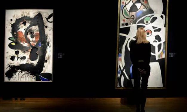Las obras de Miró de la colección portuguesa han sido catalogadas como bienes de interés público