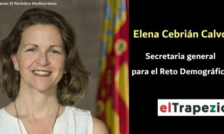"""<span class=""""entry-title-primary"""">[Vídeo] EL TRAPEZIO entrevista a Elena Cebrián, Secretária-Geral para o Desafio Demográfico do Governo da Espanha</span> <span class=""""entry-subtitle"""">Cebrián chefia a equipa espanhola de negociação para a Cimeira Ibérica e a Estratégia Comum de Desenvolvimento Transfronteiriço</span>"""