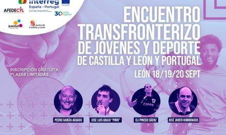 """<span class=""""entry-title-primary"""">Encuentro transfronterizo de la juventud y el deporte en León</span> <span class=""""entry-subtitle"""">Jóvenes ibéricos se reúnen con campeones olímpicos</span>"""