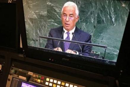 Costa apelou a defesa do multilateralismo perante a ONU